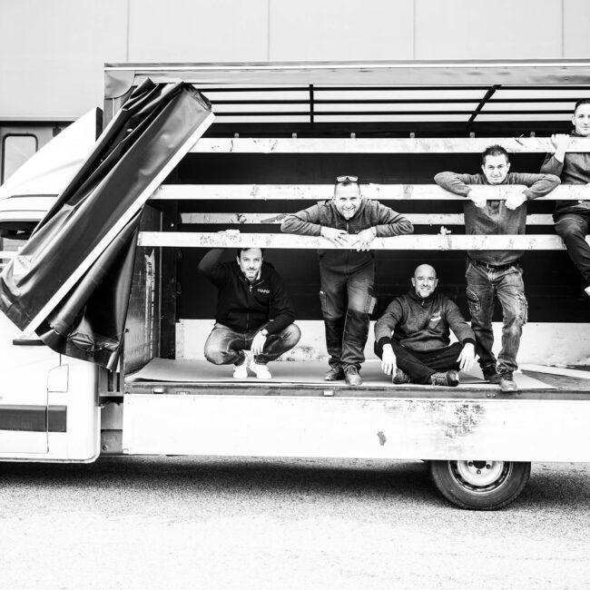 Grafox - Allestimenti Stampa Prototipi. Team Massimo & Michele & Luca & Maurizio & Davis