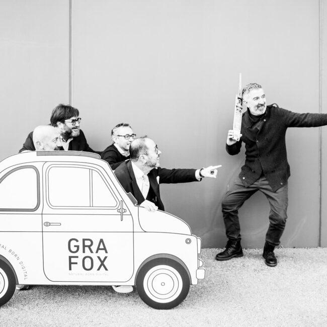 Grafox - Allestimenti Stampa Prototipi. Team Simone & Marco & Gianluca & Cristiano & Andrea