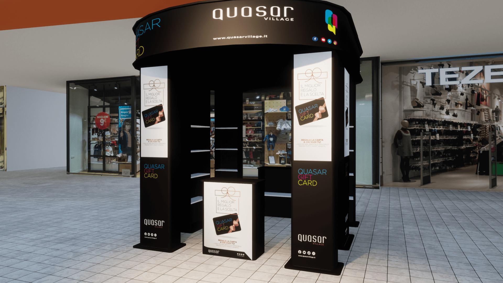 Stand expo Quasar - Progetto