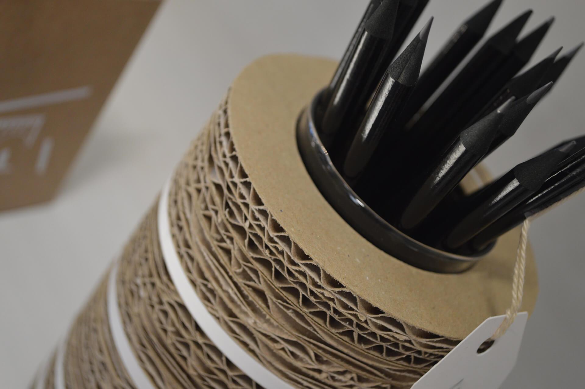 GRAFOX - Porta penne in cartone