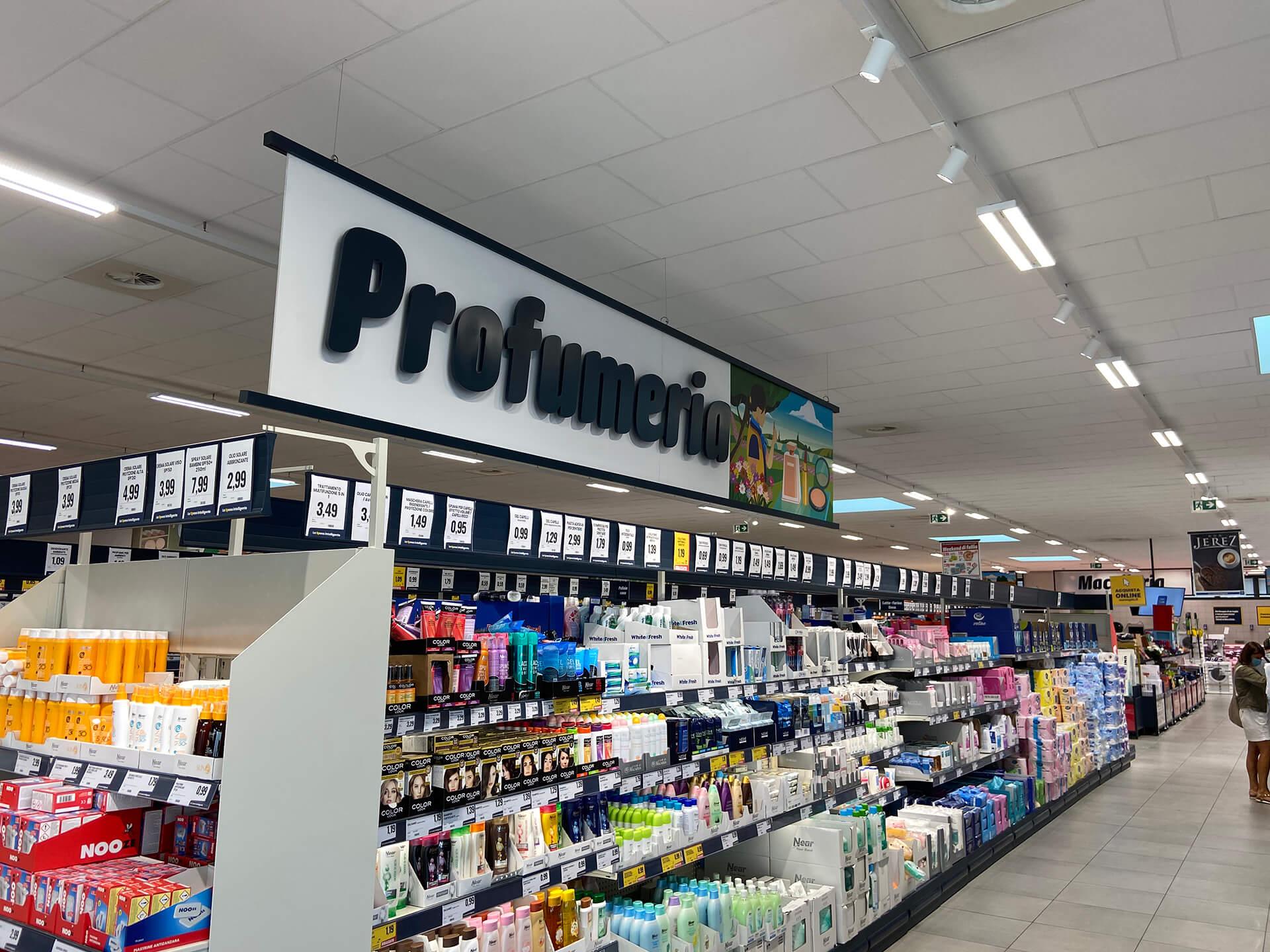 Allestimenti Grafox - Shop & Food - EUROSPIN - ITALIA