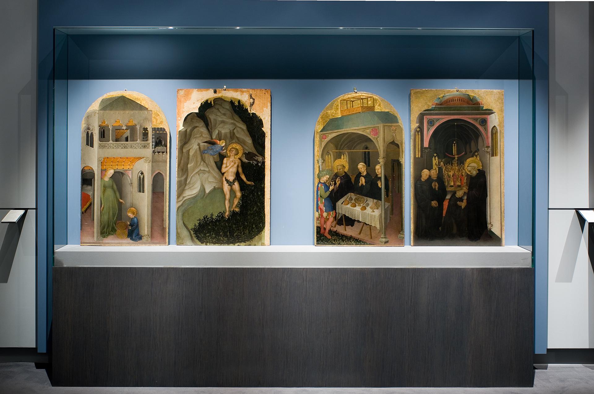Allestimenti Grafox - Musei e Mostre - Mostra Gentile da Fabriano - Galleria Nazionale dell'Umbria - Perugia