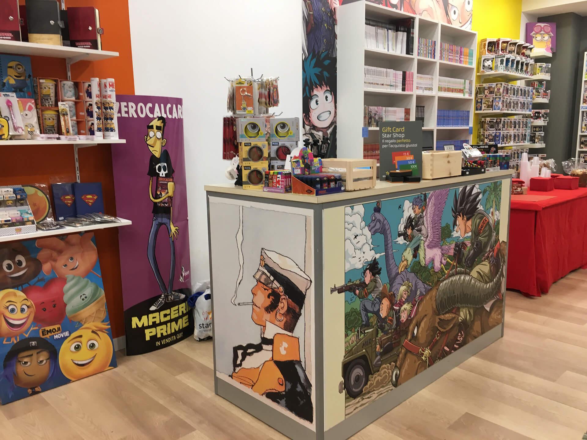 Allestimenti Grafox - Shop & Food - Star Shop Perugia