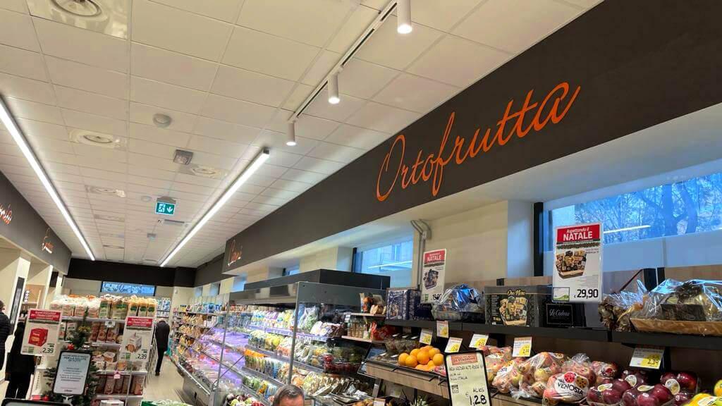 Allestimenti Grafox - Shop & Food - SUPERCONTI - ITALIA