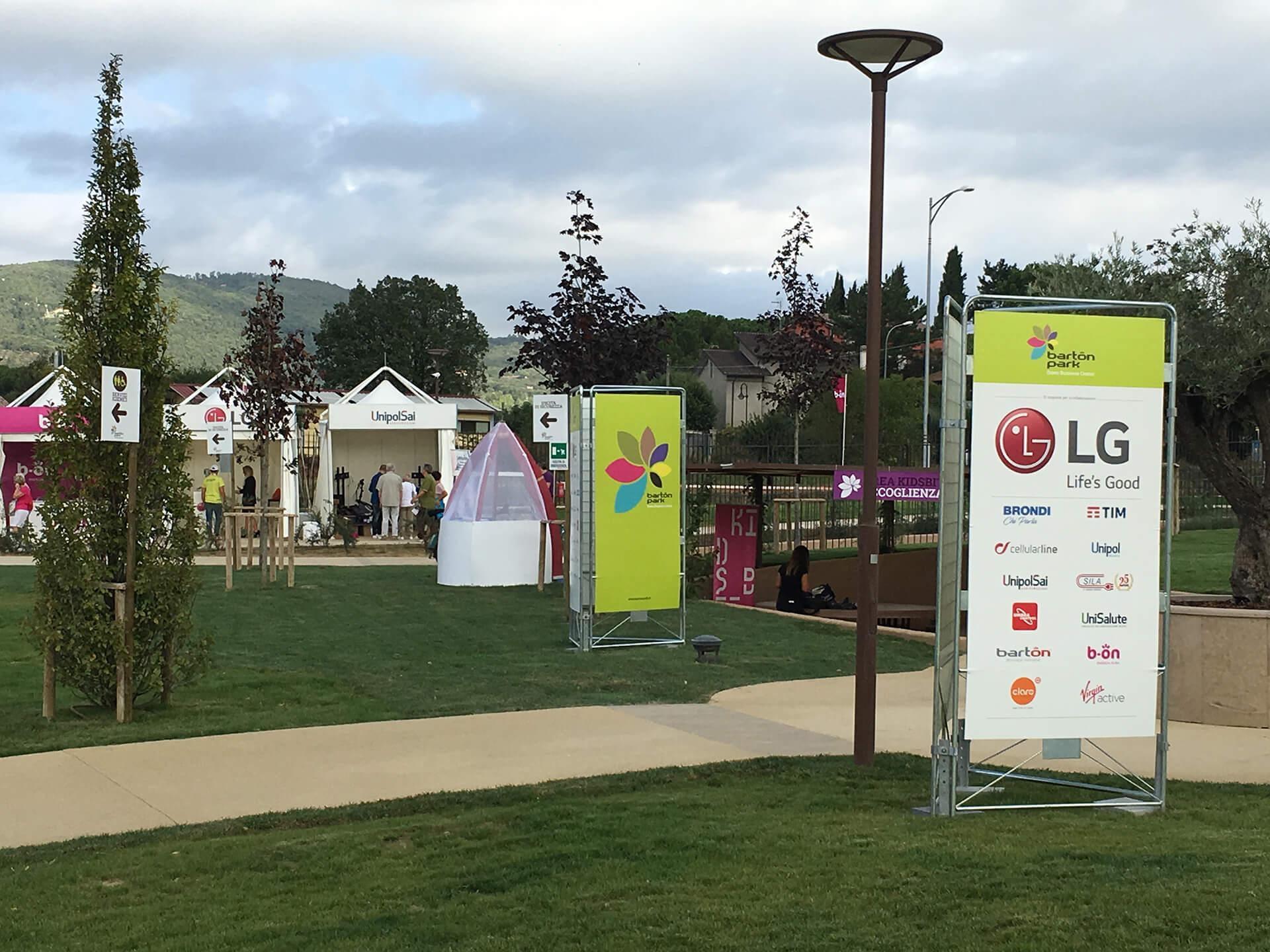 Allestimenti Grafox - Sport & Wellness - Barton Park - Barton Park Day - Perugia