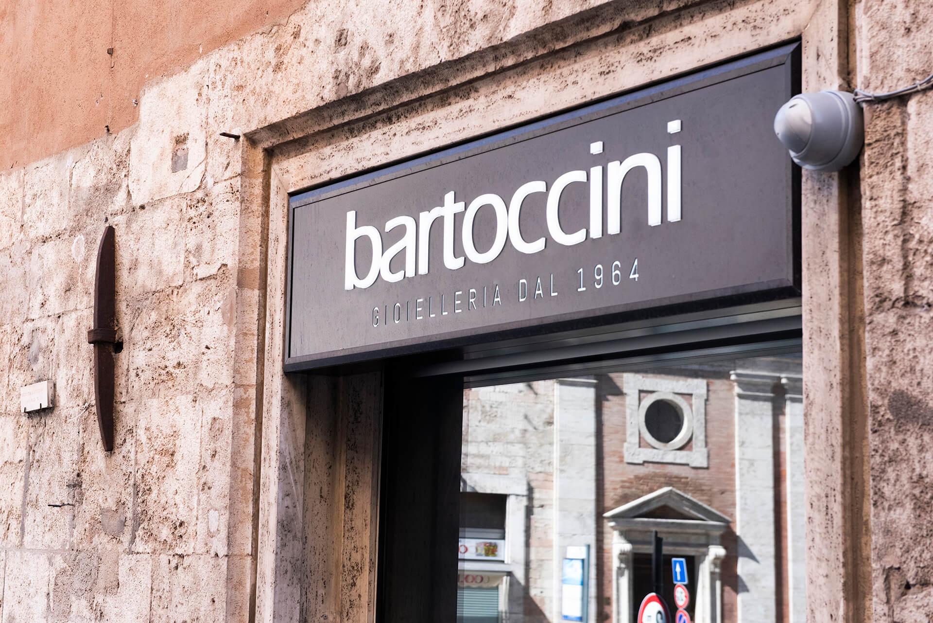 Allestimenti Grafox - Insegne&Outdoor - Bartoccini Gioielleria - Perugia