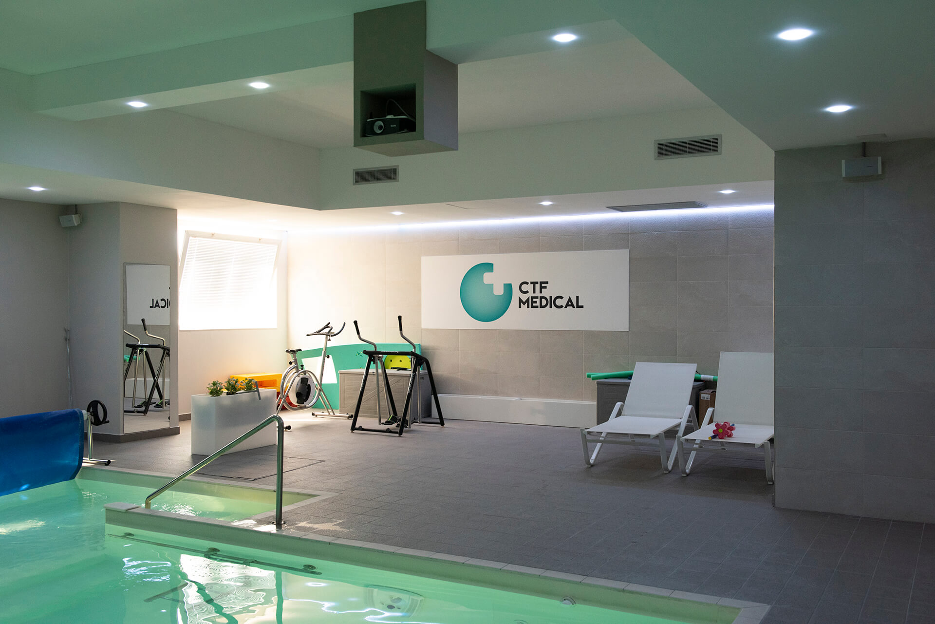 Allestimenti Grafox - Sport & Wellness - CTF medical Center - Perugia
