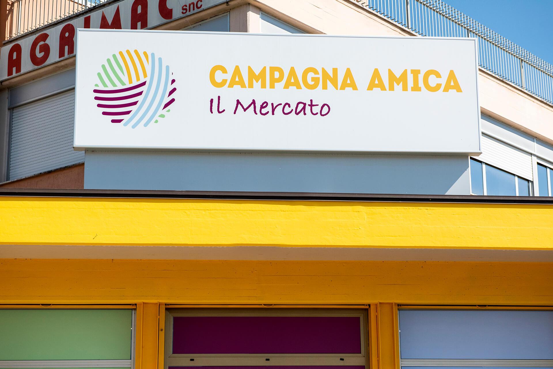 Allestimenti Grafox - Insegne&Outdoor - Campagna Amica - Coldiretti