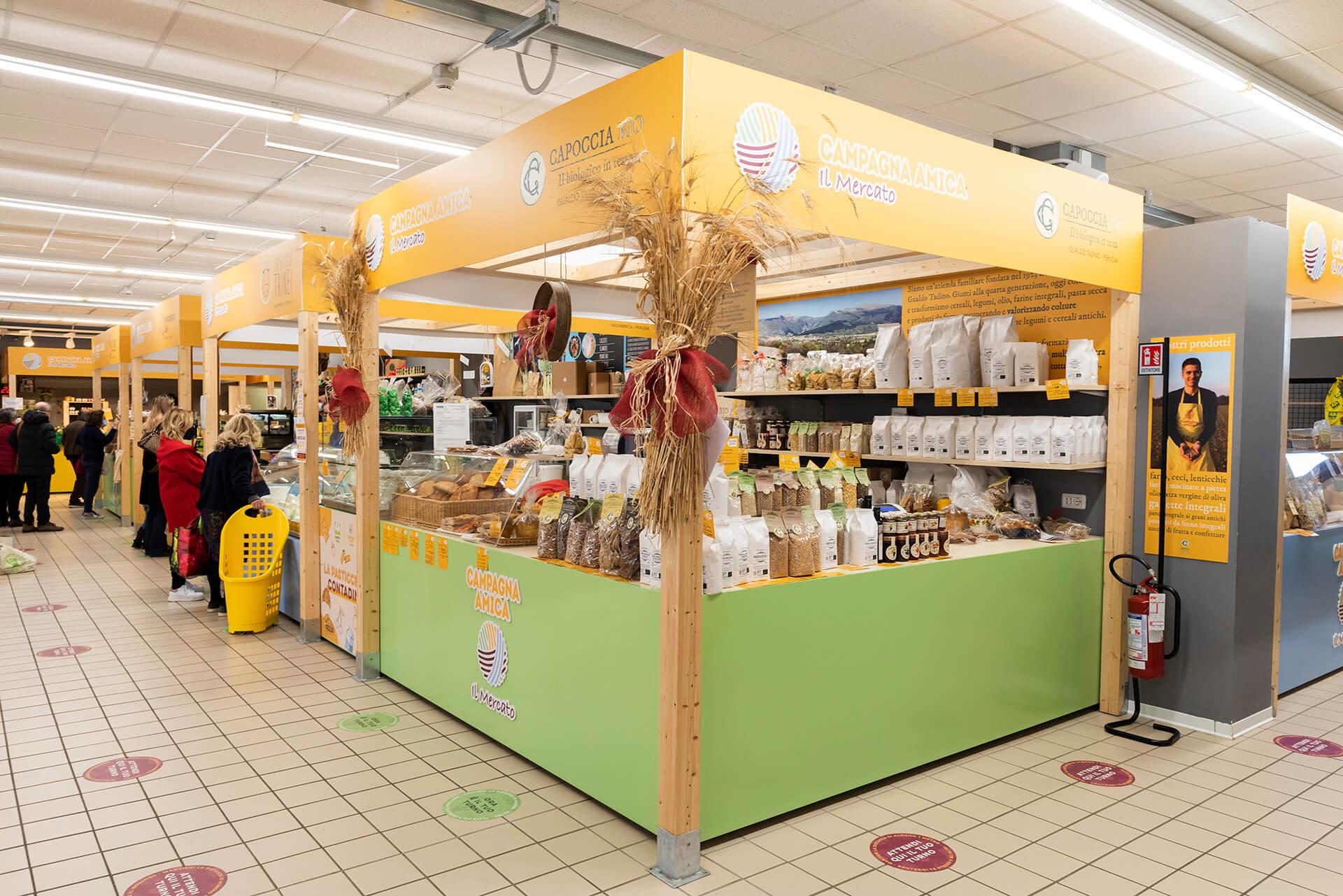 Allestimenti Grafox - Shop & Food - Campagna Amica - Coldiretti