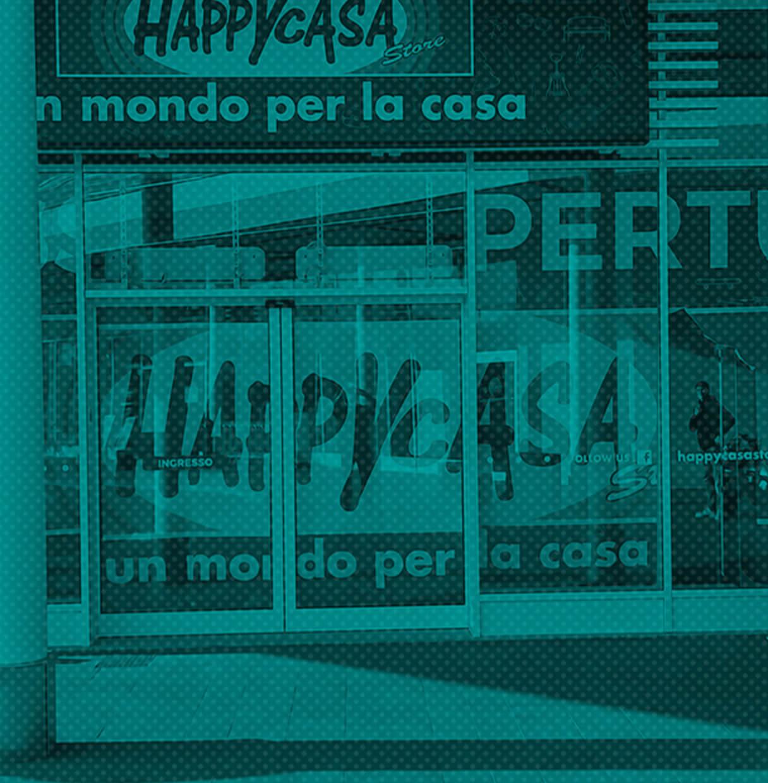 Allestimenti Grafox - Insegne&Outdoor - Happy Casa - Italia
