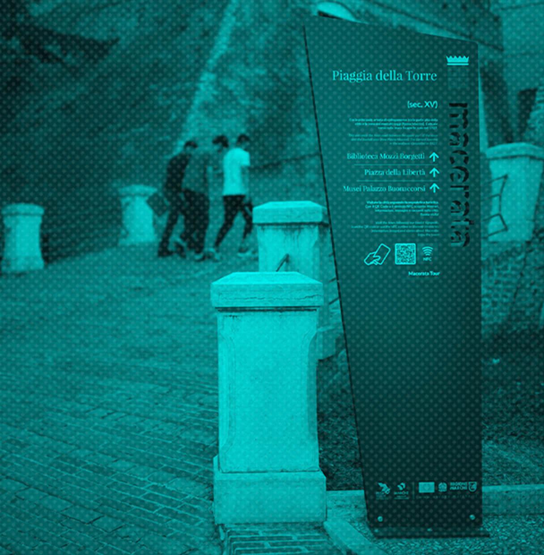 Allestimenti Grafox - Insegne&Outdoor - Macerata Tour - segnaletica - Italia